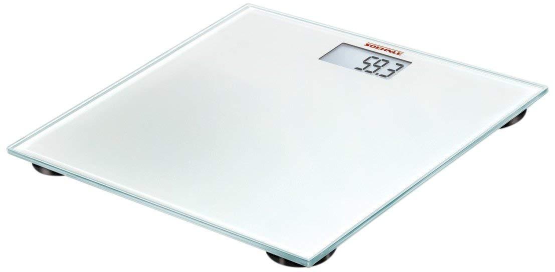 Soehnle 63840 - Bascula de baño Pino, capacidad de carga 180 kg, color ruby red: Amazon.es: Salud y cuidado personal