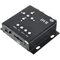 Single Channel Mini Security DVR Audio Video Recorder CCTV Recorder with SD Card Slot