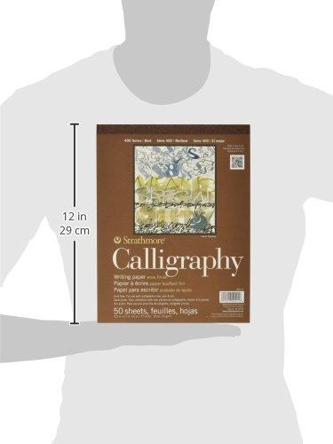 Strathmore-400-Series-Tape-Bound-Calligraphy-Pad-8-12-x-11-Inches-Sheets-Pad-of-50-ST405-11
