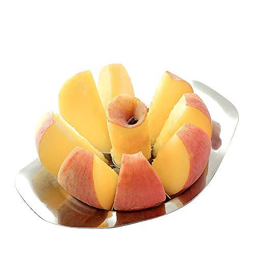 Yamesu Apple Corer and Slicer, Stainless Steel 8-Blade Easy Grip Apple Pear Slicer Corer Cutter Wedger Divider