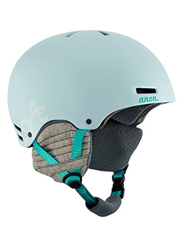 Anon Women's Greta Durable, Warm Ski Snow Helmet with Active Ventilation, Empress Teal, Medium
