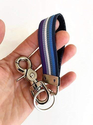 Amazon Com Butch Lesbian Pride Leather Keychain Gay Lgbt Lgbtq