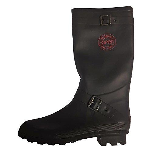 Boots Adults 40 Wellington Black ESPT EU ESPRIT 5 UK 7 001 Unisex WRw5qWI