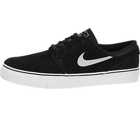 Nike Kids Stefan Janoski  Black/White Gum Med Brown Skate Sh