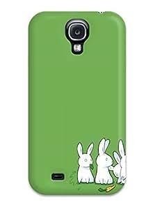 Slim Fit Tpu Protector Shock Absorbent Bumper Nonconformist Rabbit Case For Galaxy S4