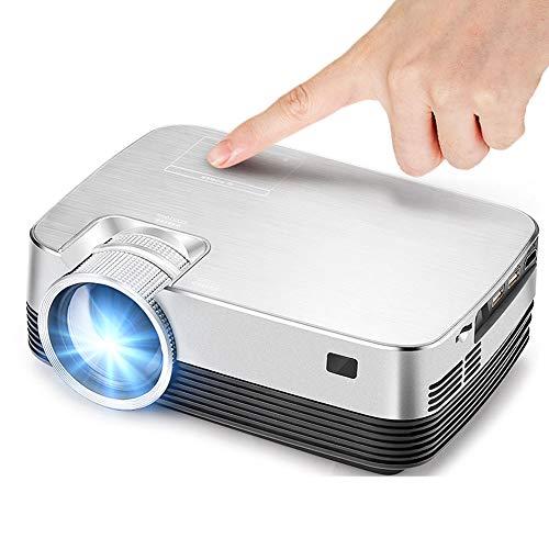 LMtt Home Projector,Q6 HD Mini Projektor, 1280×720, Android Projector Set in WiFi, Bluetooth Video Beamer 1080P, USB…