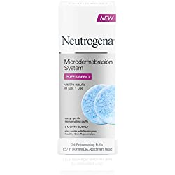 Neutrogena Microdermabrasion System Exfoliating Puff Refills, 24 Count