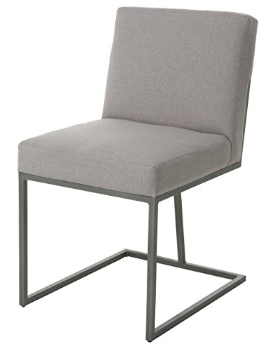 Impacterra HG11071190 (2pk) Hyejeong Side Chair, Nickel/Buttercup (2pk)