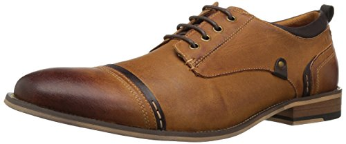 Steve Madden Men's Jamyson Oxford, Tan, 11.5 M US
