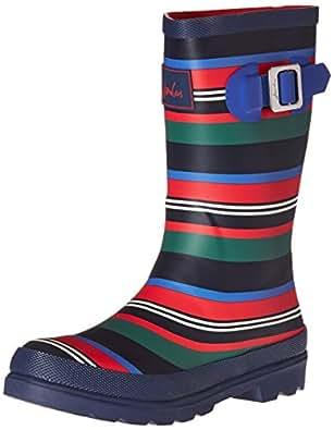 Joules Junior Welly Boot - Boys' Multi Stripe, US 2.0/UK 1.0