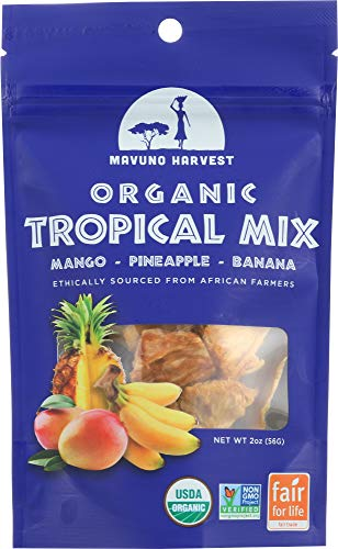 Mavuno Harvest (NOT A CASE) Dried Fruit Organic Tropical Mix