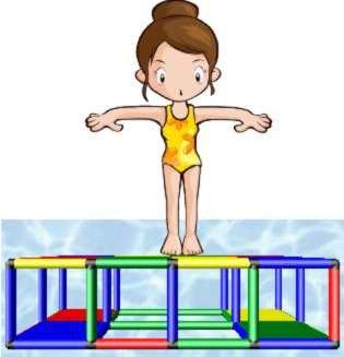 QUADRO AQUA | Pool Swim Platform | Mussel