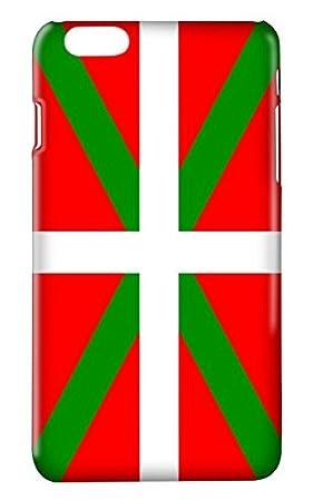 Funda Carcasa Bandera Pais Vasco Ikurriña Euskadi para Huawei P7 P8 P9 P8LITE P9LITE Lite P9PLUS Honor 5X 7 8 Mate S G8 GX8 Plus plástico rígido