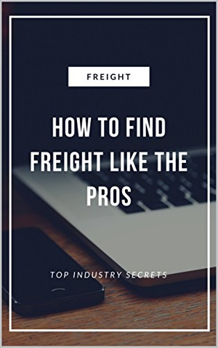 How Find Freight Like Pros ebook product image