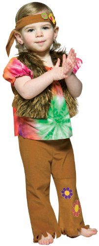 Hippie Halloween Costumes For Toddlers (Toddler Little Hippie Girl Costume by Rasta Imposta - Size 12 to 24 Months)