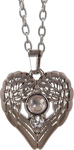 Angel Star Necklace - Angelstar 13851 Magnifier Pendant, Wing Heart