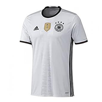 Adidas germany home soccer jersey euro 2016 s for Germany mercedes benz soccer jersey