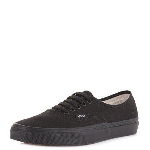 b44ff77834dc Mens Unisex Vans Authentic Black Black Lace Up Trainers SIZE 8   Amazon.co.uk  Shoes   Bags