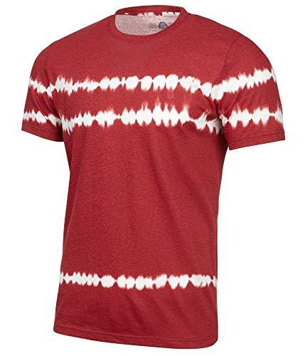 American Rag Mens Tie Dye Basic T-Shirt, Red, X-Large