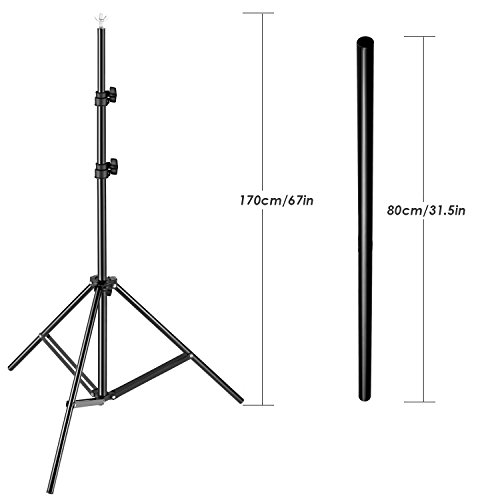 backdrops neewer backdrop support stand kit includes 31 67 inches 80 170 centimeters. Black Bedroom Furniture Sets. Home Design Ideas