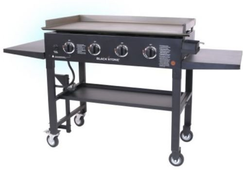 Propane Gas Grill Griddle Station Stainless Steel Outdoor...