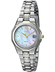 Seiko Womens SUT058 Dress Solar Classic Watch