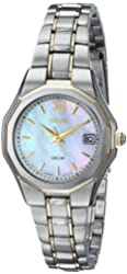 Seiko Women's SUT058 Dress Solar Classic Watch