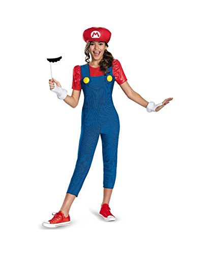 Girl Luigi Costumes (Mario and Luigi Costume - Large)