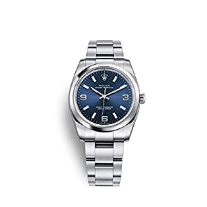 Best Epic Trends 41fNyKNvciL._SS300_ Rolex Oyster Perpetual 34 Stainless Steel / Oyster Bracelet / Blue Dial