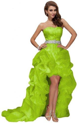 Donna Vestito Vestito Green Sunvary Sunvary Green Donna Sunvary qETWwC1