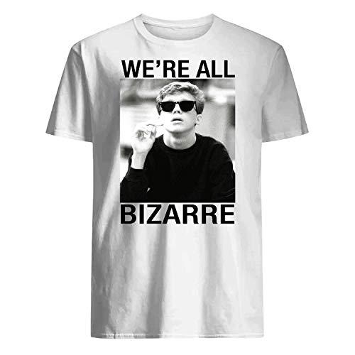 USA 80s TEE We're All Bizarre Shirt White ()