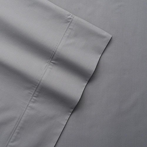 - The Big One Percale Sheet Set (King, Gray), 275 Thread Count, 4PC Set, 17