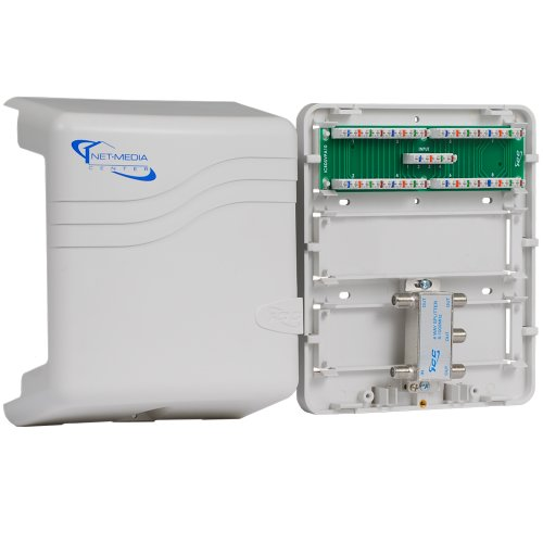 ICC Mini Combo Voice/video Structured Wiring Enclosure ()