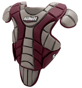 Schutt Sports Scorpion Chest Protector for Baseball, Maroon, 13-Inch by Schutt