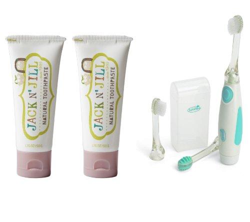 Jack Jill Toothpaste Vibrating Toothbrush