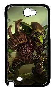 Hot Games World of Warcraft Samsung Galaxy Note 2 N7100 Case, Custom Samsung Galaxy Note 2 N7100 Case