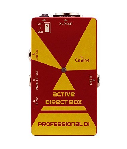 Active Box Di (Caline USA CP-23 Active Direct DI Box Input Effects Pedal Amp Simulation)