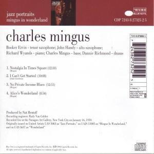 Jazz Portraits: Mingus in Wonderland