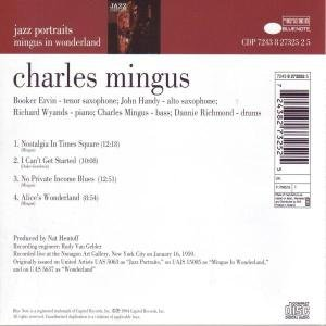 Jazz Portraits: Mingus in Wonderland by Blue Note Records