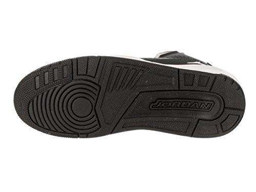 Sneakers Nike Jordan Mens Sc-3 In Pelle Nero-bianco-nero-bianco (629877-008)