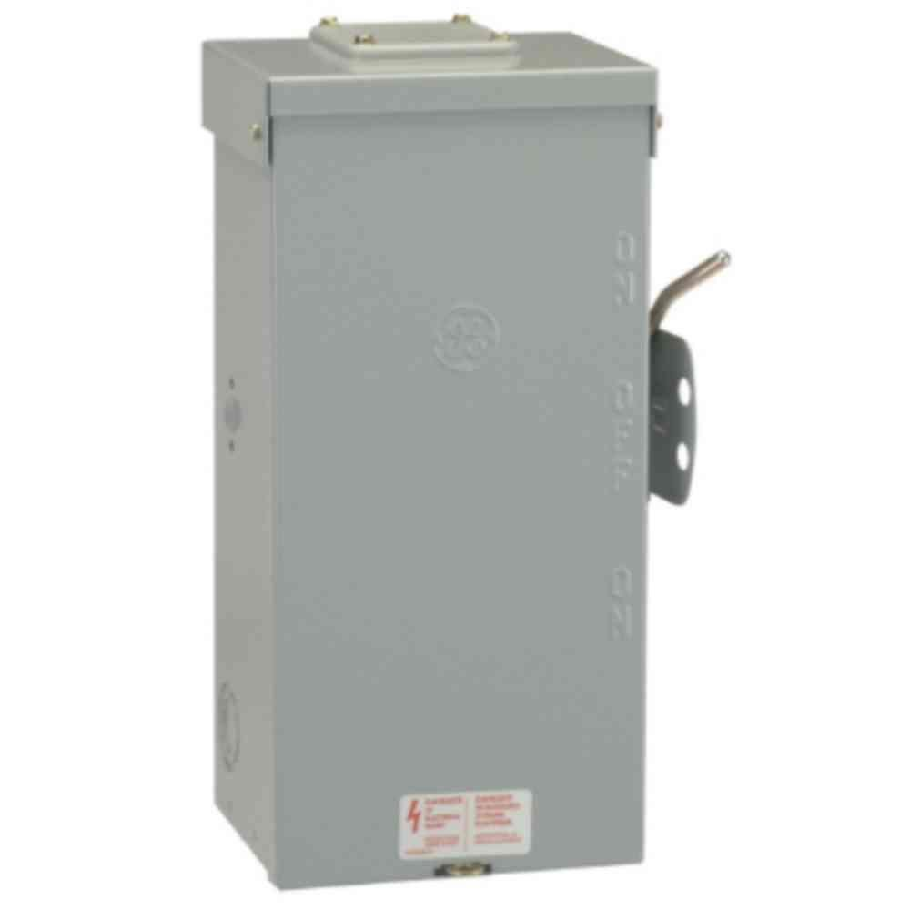 amazoncom ge tc10324r 3 wire 2 pole non fusible emergency power