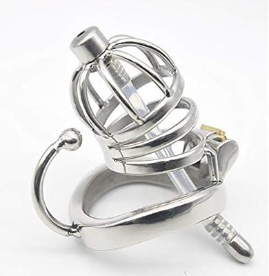 Q-HL - Cinturón de castidad de Acero Inoxidable para Hombre ...