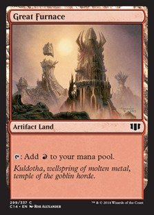Magic: the Gathering - Great Furnace (299/337) - Commander ()