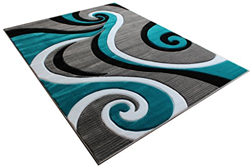 Masada Rugs Sophia Collection Hand Carved Area Rug Modern