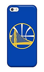 Iphone 5/5s Hard Back With Bumper Silicone Gel Tpu Case Cover Golden State Warriors