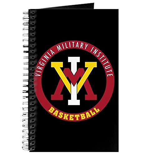 CafePress - VMI Virginia Military Institute Cadets Basketball - Spiral Bound Journal Notebook, Personal Diary, Dot Grid (Military Diary)