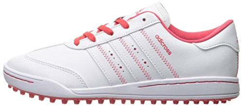 adidas Girls' Jr Adicross V Ftwwht/Ftww Skate Shoe, White, 4.5 M US Big Kid - Image 5