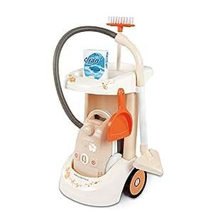 Smoby 024613 - Rowenta carrito de limpieza Clean Aspi [importado de Alemania]