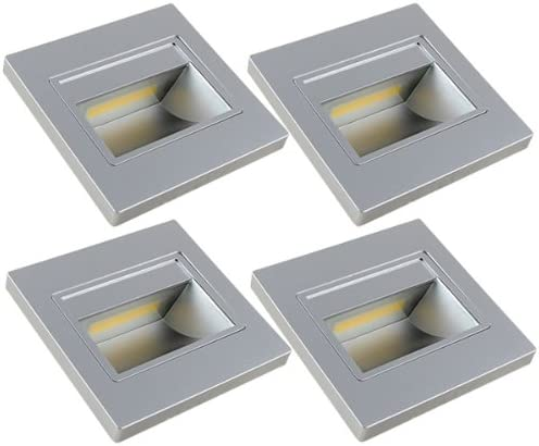 MENGS Paquete de 4 Bombilla LED 1W COB Lámpara LED, Equivalente 8W Halógena lampara LED, Blanco Cálido 3000K, AC 110V-260V, 120LM luces LED: Amazon.es: Iluminación