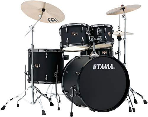 Tama Imperialstar Complete Drum Set - 5-piece - Black with Black Nickel Hardware ()